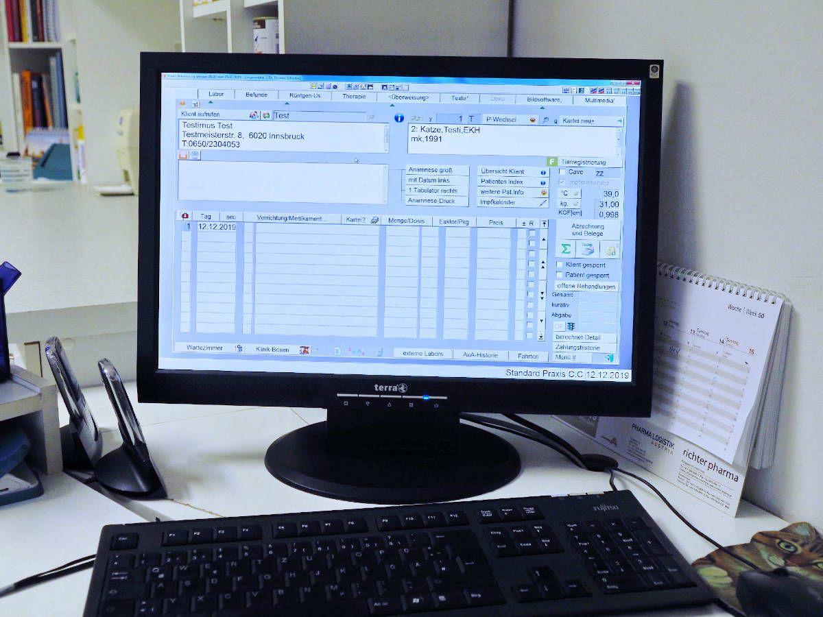 Datenerfassung via EDV