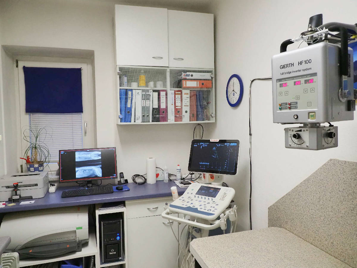 Rönten Ultraschall EKG